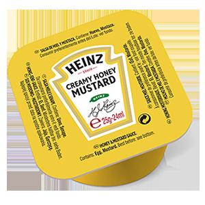 Jasa Internacional. Heinz. Tarrina Monodosis Miel y Mostaza
