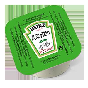 Jasa Internacional. Heinz. Tarrina Monodosis Crema Agria y Cebollino