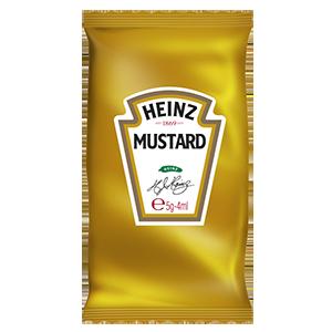 Jasa Internacional. Heinz. Monodosis Mostaza