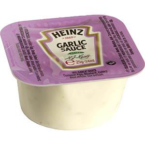 Jasa Internacional. Heinz. Tarrina Monodosis Salsa de Ajo