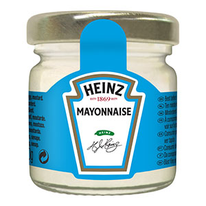 Jasa Internacional. Heinz. Room Service Mayonesa