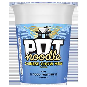 Jasa Internacional. Pot Noodle. Chow Mein