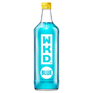 Jasa Internacional. WKD. WDK Blue Botella