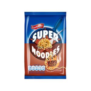 Jasa Internacional. Batchelors. Super Noodles sabor barbacoa
