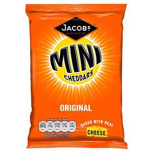 Jasa Internacional. Jacob's. Mini Cheddars
