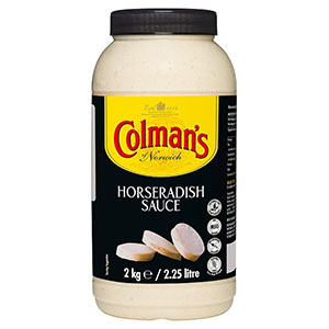 Jasa Internacional. Colman's. Salsa de Rábano Catering