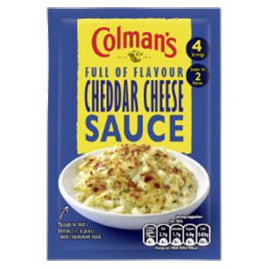 Jasa Internacional. Colman's. Salsa de Queso Cheddar
