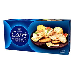 Jasa Internacional. Carr's. Surtido de crackers Carr´s
