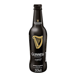 Jasa Internacional. Guinness. Guinenss Draught Black Label