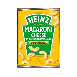 Jasa Internacional. Heinz. Macaroni Cheese