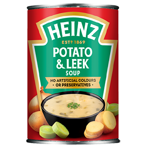 Jasa Internacional. Heinz. Sopa de patata y puerro