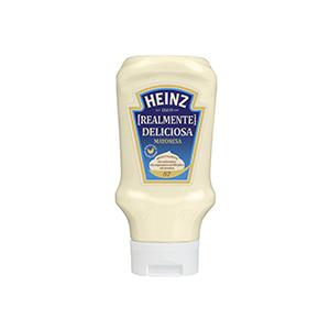 Jasa Internacional. Heinz. Mayonesa Bocabajo
