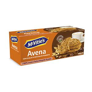 Jasa Internacional. McVitie's. Avena Choco Chips