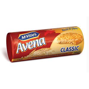 Jasa Internacional. McVitie's. Avena Classic
