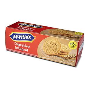Jasa Internacional. McVitie's. Digestive Integral