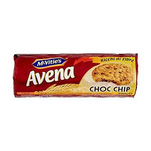 Jasa Internacional. McVitie's. Avena Choc Chip