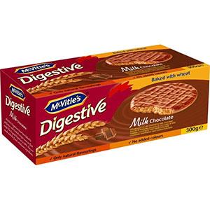 Jasa Internacional. McVitie's. Digestiva Chocolate con Leche