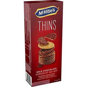 Jasa Internacional. McVitie's. Digestiva Fina Chocolate con leche