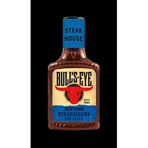 Jasa Internacional. BULL'S-EYE. New York Steakhouse barbecue sauce