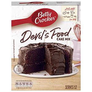 Jasa Internacional. Betty Crocker. Preparado para Tarta Devil´s Food