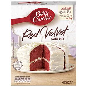 Jasa Internacional. Betty Crocker. Preparado para tarta Red Velvet