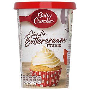 Jasa Internacional. Betty Crocker. Cobertura Butter Cream