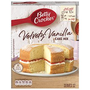 Jasa Internacional. Betty Crocker. Preparado para tarta Velvety Vainilla