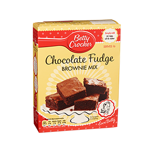 Jasa Internacional. Betty Crocker. Preparado Para Brownie