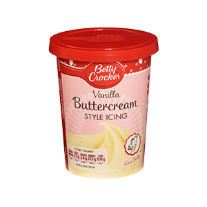 Jasa Internacional. Betty Crocker. Cobertura Buttercream de Vainilla