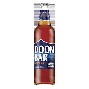 Jasa Internacional. Sharp´s. Cerveza Doom Bar