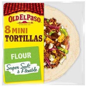 Jasa Internacional. Old El Paso. 8 Mini Tortillas