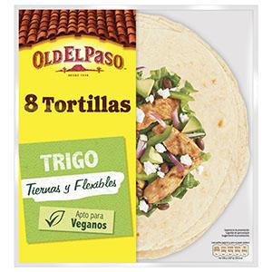 Jasa Internacional. Old El Paso. 8 Tortillas Trigo