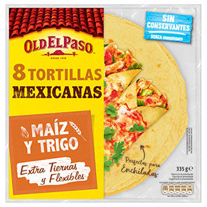 Jasa Internacional. Old El Paso. 8 Tortillas de maíz