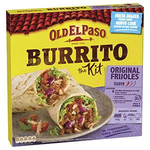 Jasa Internacional. Old El Paso. Burrito kit
