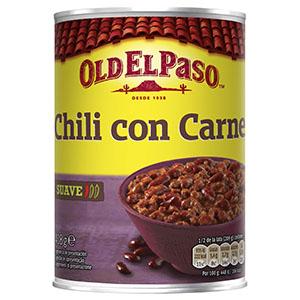 Jasa Internacional. Old El Paso. Chili con carne