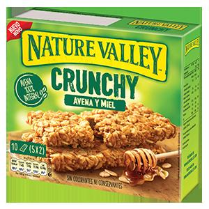 Jasa Internacional. Nature Valley. Crunchy Avena y Miel
