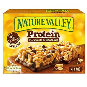 Jasa Internacional. Nature Valley. Protein Cacahuete y Chocolate