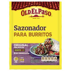 Jasa Internacional. Old El Paso. Sazonador Burritos