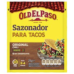Jasa Internacional. Old El Paso. Sazonador Taco