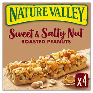 Jasa Internacional. Nature Valley. Sweet Salty Cacahuete y Caramelo